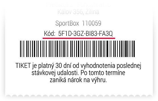 Overenie v hry - SMS casino Dni astia